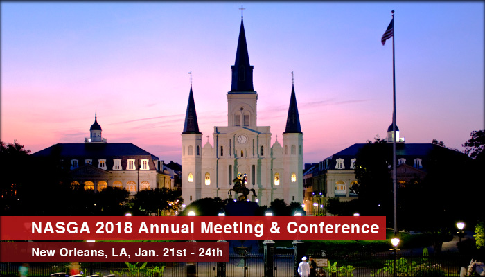 Join NASGA for their 2018 Annual Conference & Meeting in New Orleans, Louisiana